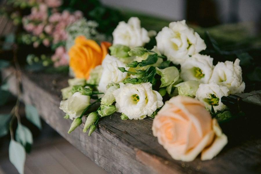 bloemen van dichtbij flower family