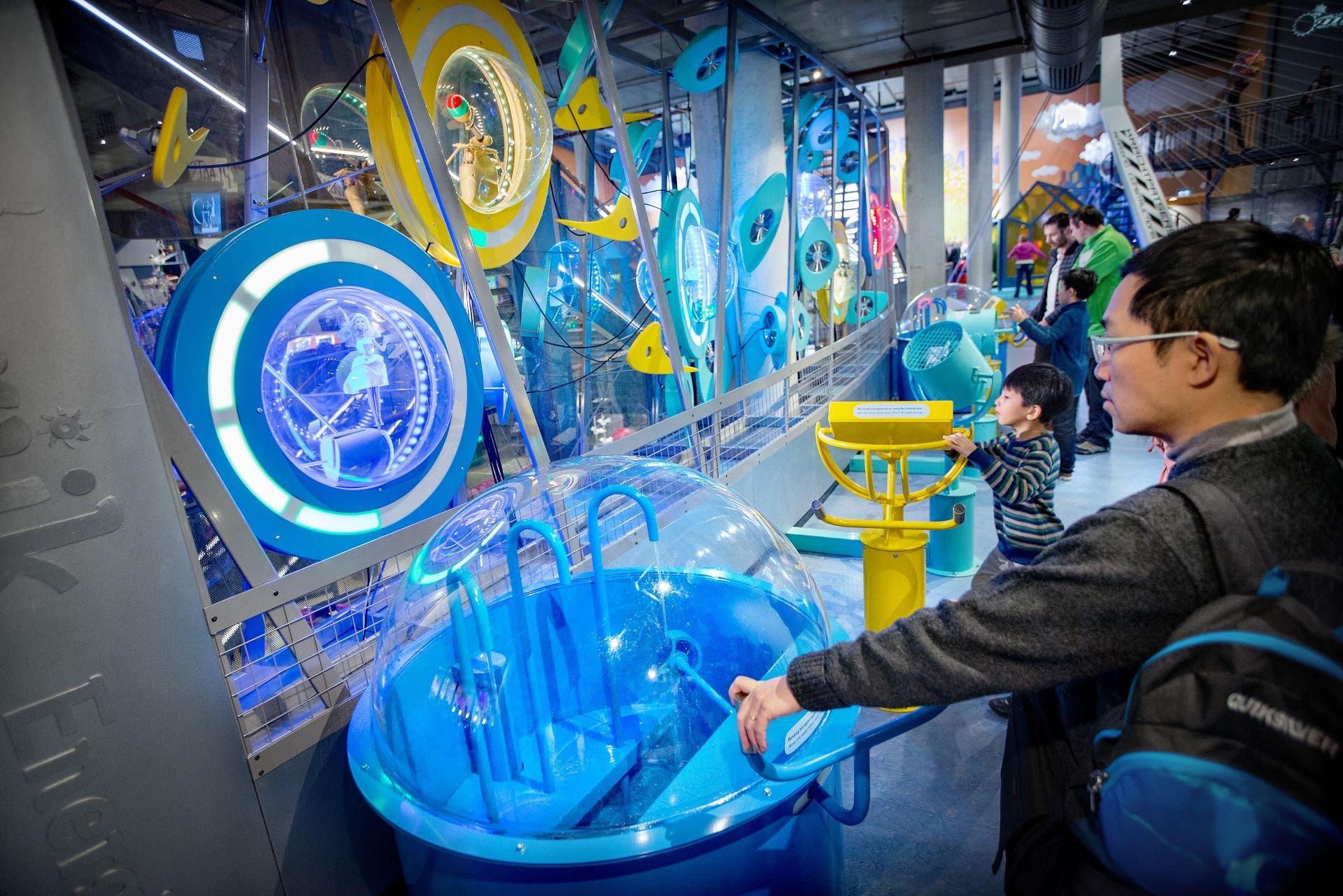 NEMO Science Museum - Tentoonstelling Energierijk - Foto DigiDaan