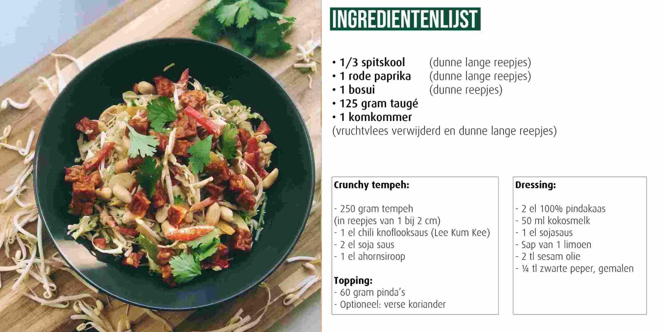 Pad Thai foto ingredienten