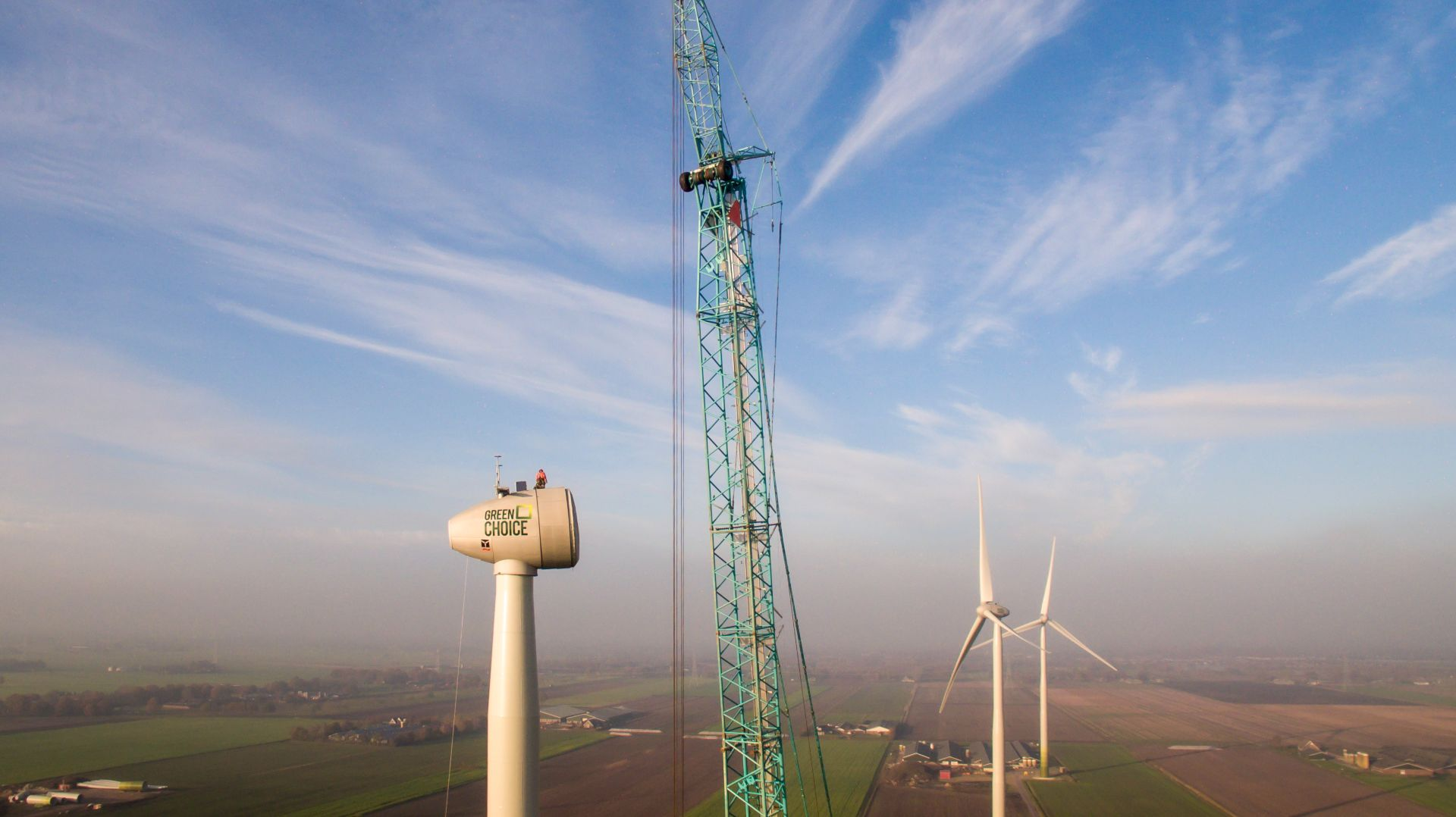 windpark turbine